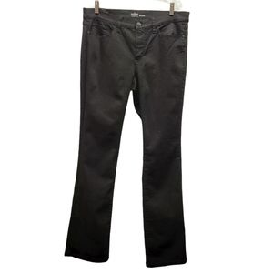 New York & Company Black Bootcut Jeans 14